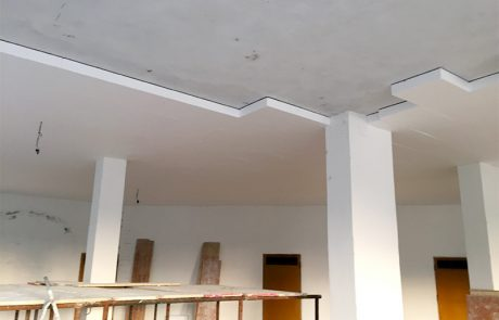 Isolamento Soffitto Pilotis. Cessole (AT)