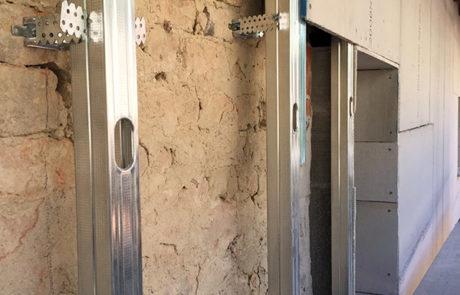 Facciata Ventilata al fine di risanamento estetico - Abitazione Privata - Costigliole D'Asti (AT)