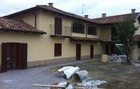 Facciata Ventilata a scopo di risanamento estetico - Costigliole d'Asti