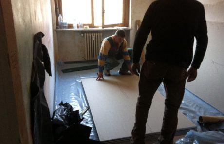 Isolamento Acustico Soffitto - Appartamento - Nizza M.to (AT)