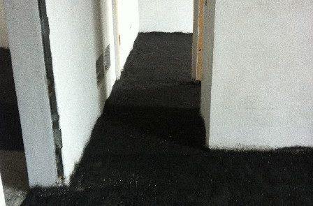 Isolamento Acustico al Calpestio con Gomma SBR - Condominio - Canelli (AT)
