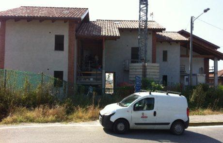 Isolamento Acustico al Calpestio con Gomma SBR - Condominio - Govone (CN)