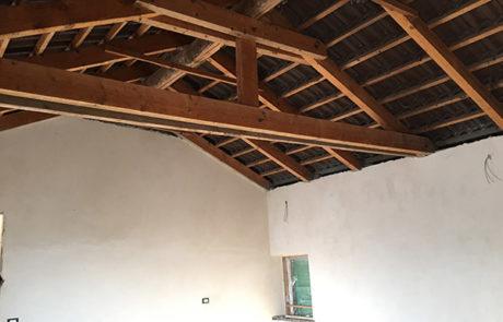 Isolamento Tetto e rivestimento Perlinato - Abitazione Privata - Costigliole d'Asti (AT)