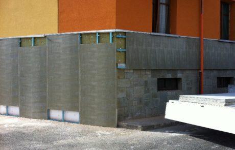 Isolamento con Lana e Facciata Ventilata - Abitazione Privata - Asti