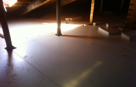 Isolamento del sottotetto con XPS Calpestabile - Condominio - Collegno (TO)