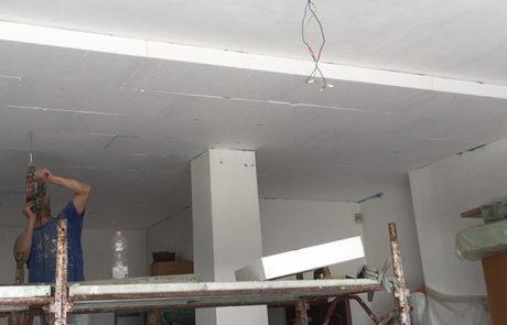 Isolamento soffitto Pilotis - Isola d'Asti (AT)