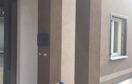 Bussola di entrata eseguita in opera - Abitazione Privata - Vinchio (AT)