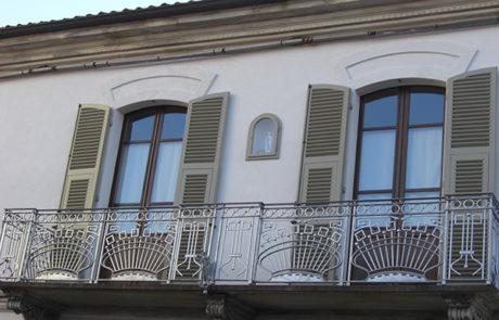 Cornici decorative - Abitazione Privata - Nizza M.To (AT)