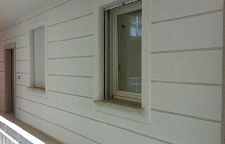 Esecuzione di bisellature decorative - Condominio - Nizza M.to (AT)