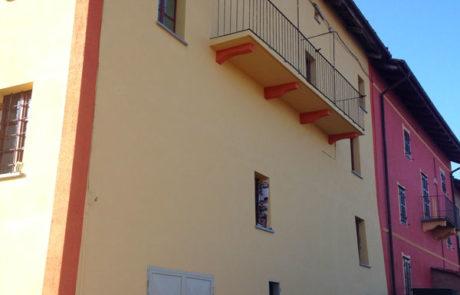 Intonaco Deumidificante e Tinteggiatura - Abitazione Privata - Costigliole d'Asti (AT)