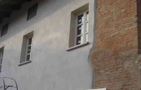 Intonaco Esterno - Abitazione Privata - Bionzo (AT)