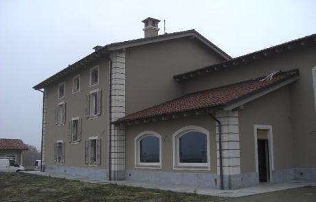 Intonaco Esterno - Abitazione Privata - Mombaruzzo (AT)