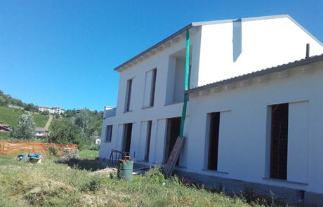 Intonaco Esterno - Condominio - Nizza M.to (AT)