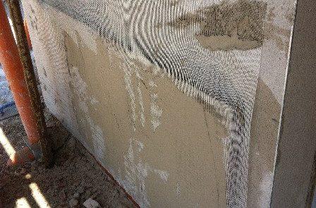 Intonaco Esterno con rivestimento colorato - Abitazione Privata - Castelnuovo Calcea (AT)