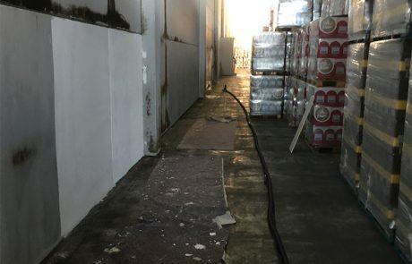 Riqualificazione e sanificazione capannone. Santo Stefano Belbo